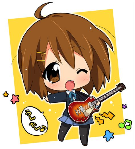 anime chibi chibi k on all about anime