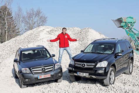 Sitzbez Ge Auto Mercedes Glk by Mercedes Glk Gl Gebrauchtwagen Test Autobild De