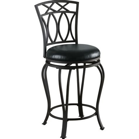 coaster leather look bar chair coaster furniture 122059 24 metal barstool with padded