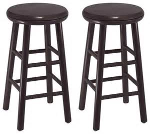 24 Inch Bar Stool Winsome Wood Set Of 2 24 Inch Swivel Kitchen Stool Contemporary Bar Stools And Counter