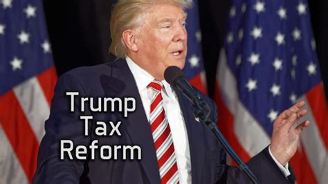 trump tax reform radical tax reform is non negotiable