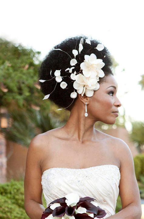 wedding hairstyles natural afro hair wedding hairstyles for short hair