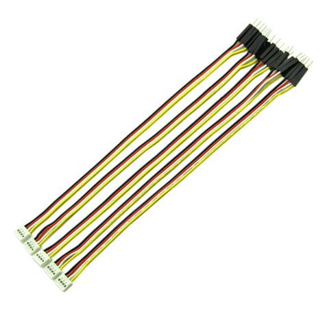 grove 4 pin connector to jumper wire cable 20cm 5 pack