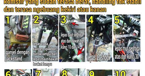 Komstir Klx 150 klx150 tips trik and tutorial bongkar pasang komstir klx d tracker 150