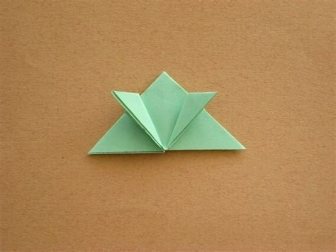Origami Jumping - origami jumping frog 183 how to fold an origami animal