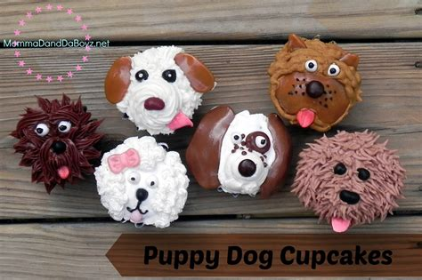 puppy birthday cakes puppy cupcakes momma d and da boyz