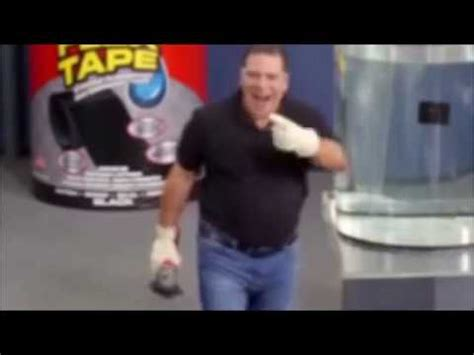 flex tape saw boat in half i sawed this boat in half remix youtube