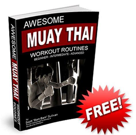 muay thai workout plan eoua