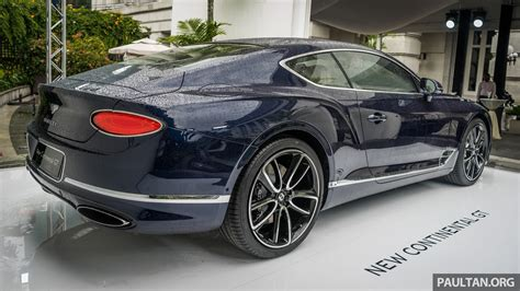 bentley singapore 2018 bentley continental gt previewed in singapore image