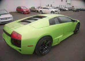 Salvage Lamborghini Cars For Sale Database Inventory Of Repairable Salvage Wrecked Cars