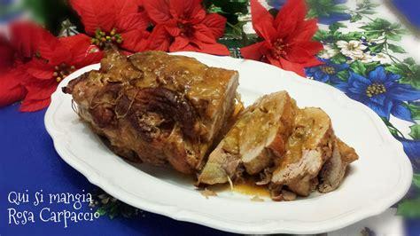 come cucinare l arrosto di maiale arrosto di spalla di maiale alle mele rosse qui si mangia