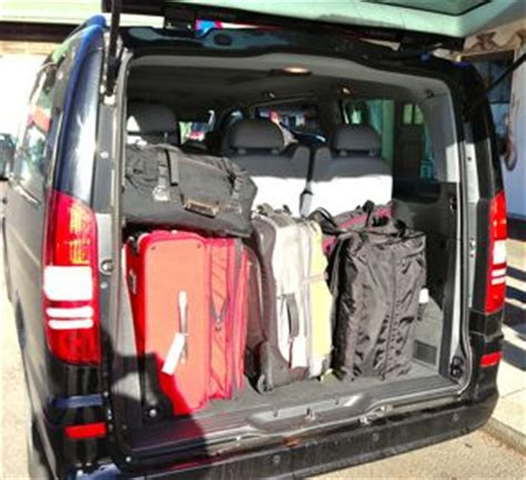 ford galaxy  seater luggage capacity