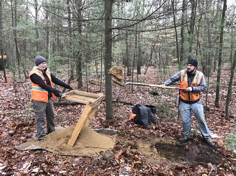 lincoln ma journal minuteman archaeological dig comes up empty news