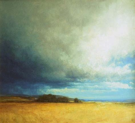 Landscape Artists Uk Outdoor Painting Of Landscape And Sky Near Coupar