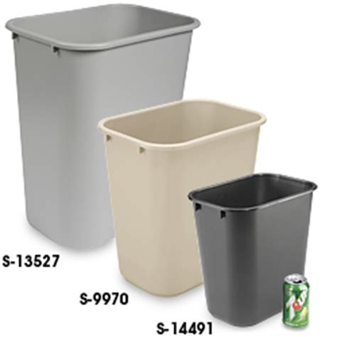 Office Garbage Cans Office Trash Can Office Trash Cans In Stock Uline