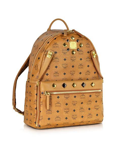 Elizabeth Bag Nangi Backpack Brown mcm medium dual stark backpack in brown lyst