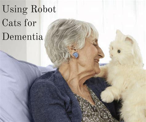 can dogs get dementia using robot cats for dementia senioradvisor