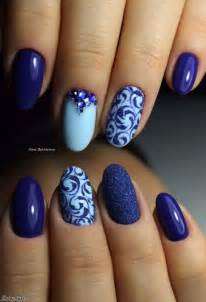 best 25 blue nail ideas on simple nail design