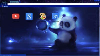 theme chrome panda panda chrome themes themebeta