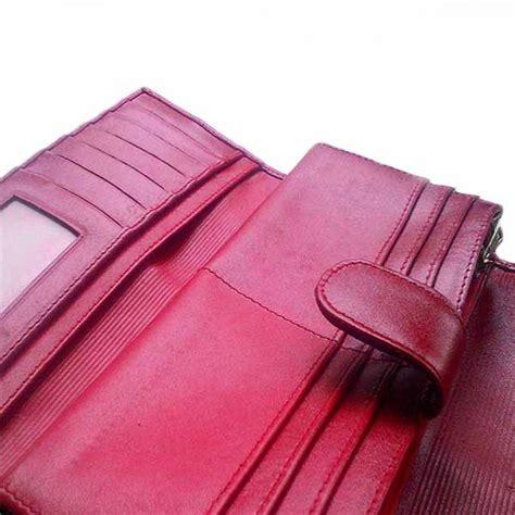 Dompet Kulit Bogesi 6r724 Elegan Pria Wanita dompet wanita kulit asli ikan pari model trifold finishing lukis dompet pari dompet wanita