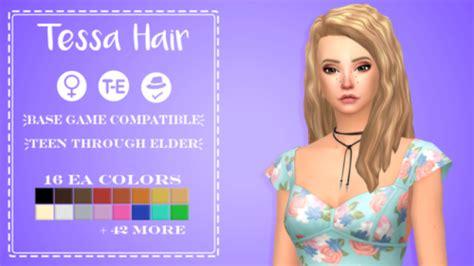sims  maxis match hair tumblr