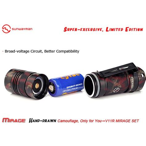 Lu Led Cree U3 buy sunwayman v11r cree xm l u3 500lm tactical led