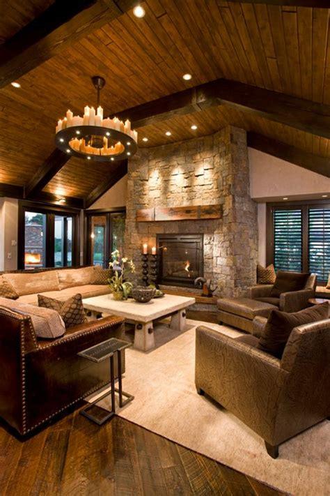 55 awe inspiring rustic living room design ideas future