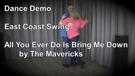 west coast swing vs east coast swing east coast swing dance demo quot all you ever do is bring