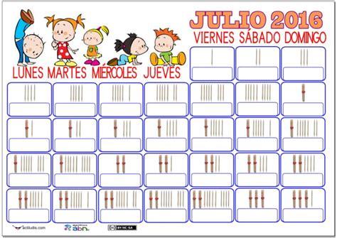 Calendario Julio Las 25 Mejores Ideas Sobre Calendario Julio En