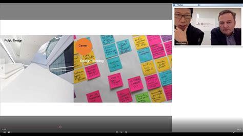 design management youtube webinar on design led innovation international design
