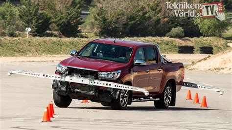 toyota now revised toyota hilux now handles the moose test