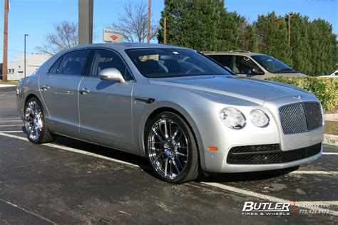 2017 bentley flying spur on rims bentley flying spur with 22in lexani css8 wheels