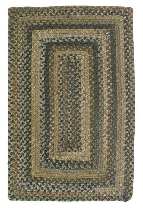 Colonial Rug by Rv 60 Grecian Green Ridgevale Rug By Colonial Mills