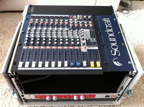 Mixer Soundcraft Efx 12 soundcraft efx8 image 609454 audiofanzine