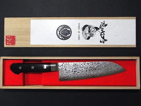 luxury kitchen knives f s yebisu yaiba santoku sakai luxury kitchen knife 165mm