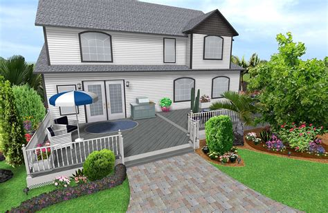 3d home design and landscape software landscaping software features