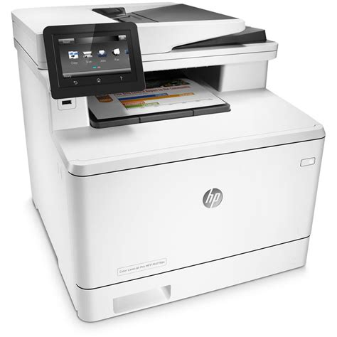 hp color laserjet pro all hp color laserjet pro m477fdn all in one laser printer cf378a