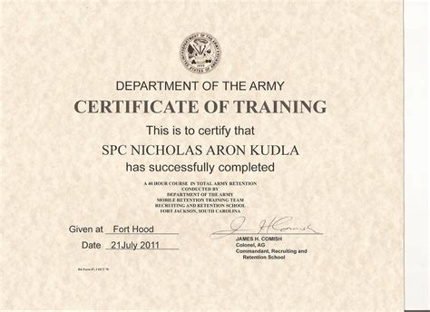 army training certificate madrat co