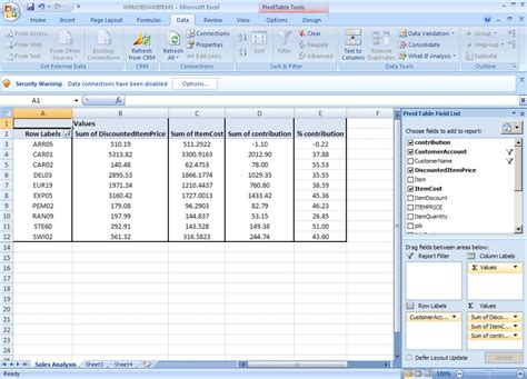 excel pivot table filtering filtering a pivot table