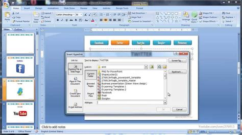 cara membuat powerpoint di email membuat hyperlink powerpoint free powerpoint templates