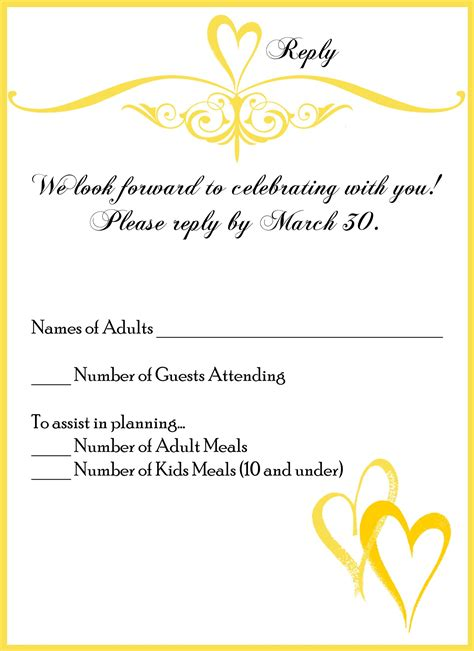 wedding invitations with rsvp cards included lilbib wedding