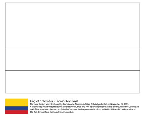 Columbia Flag Coloring Page Colombia Flag Coloring Page Free Printable Coloring Pages by Columbia Flag Coloring Page