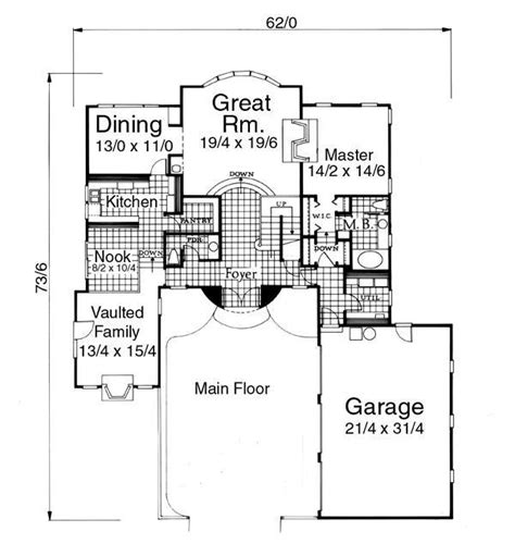 normandy house plan country house plans