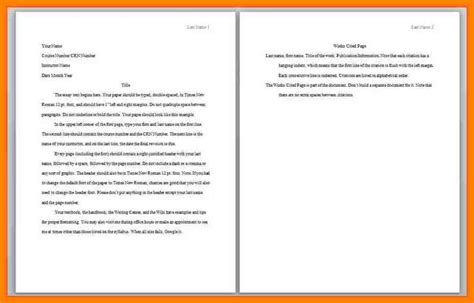 Apa Format Sle Paper Essay by 11 Apa Format Paper Exles Sales Resumed
