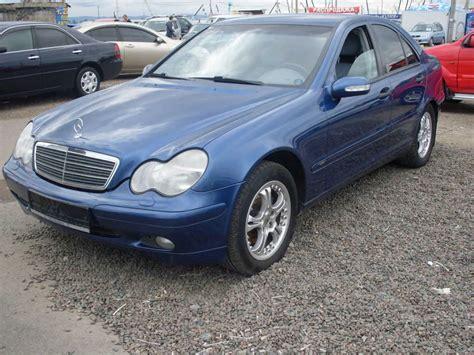 blue mercedes 2002 mercedes benz c class blue 200 interior and
