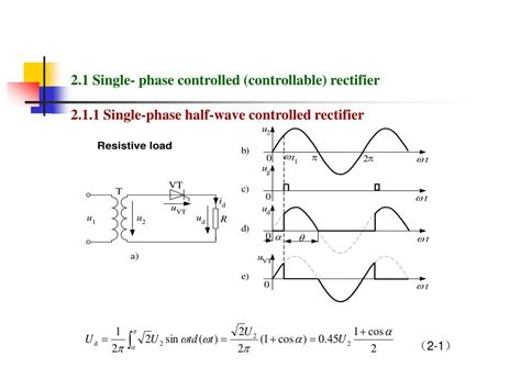 single phase diode bridge rectifier analysis ppt chapter 2 ac to dc converters powerpoint presentation id 230019