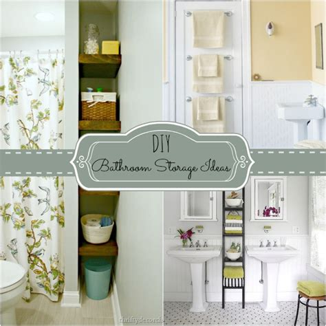 Diy Bathroom Designs by 4 Tips To Creating More Bathroom Storage Home Stories A To Z