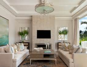 Coastal contemporary beach style living room miami by ficarra