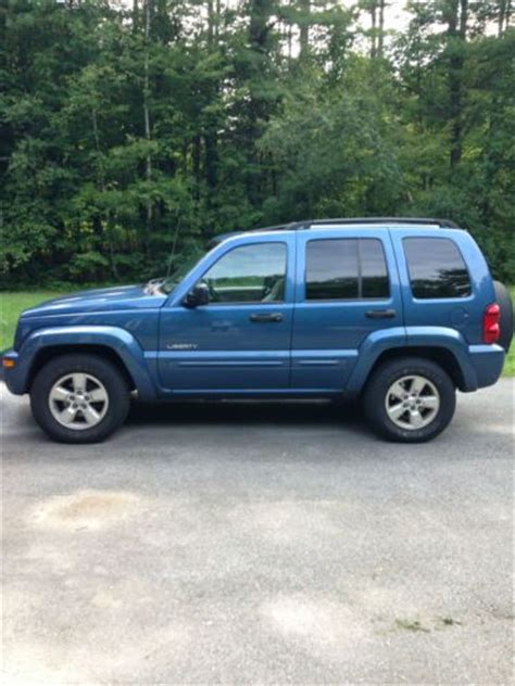 04 Jeep Liberty Mpg Buy Used 04 4wd Jeep Liberty Limited Edition With All