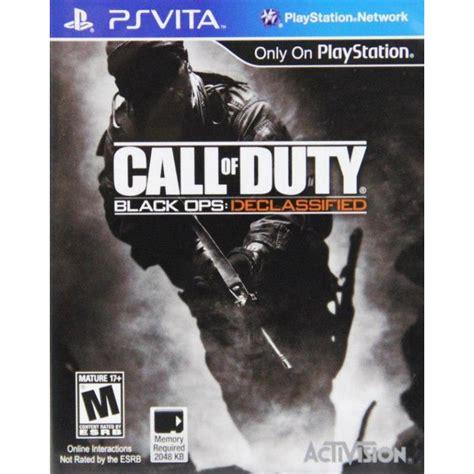 Psvita Call Of Duty Black Ops Declassified Reg2 v043 call of duty black ops declassified